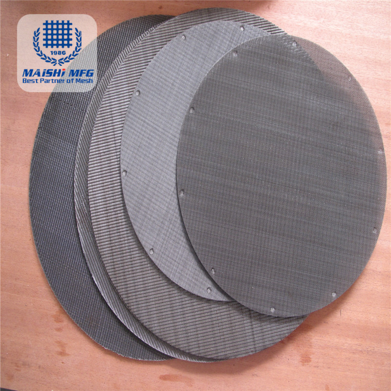 Stainless Steel Wire Cloth Extruder Screens