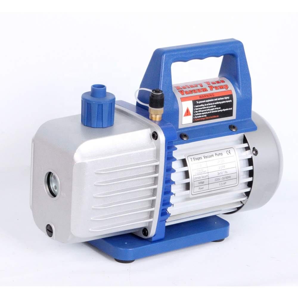 Hot Sale Single Stage 2.5CFM 3CFM HVAC Rotary Vane Vacuum <strong>Pump</strong>