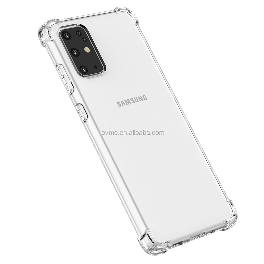 hot <strong>s</strong>ale crystal clear soft tpu corner bumper