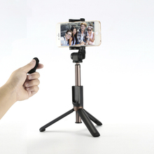 3 in 1 Wholesale Extendable Wireless flexible Selfie Stick with Tripod for Mobile Phones iphone X , i phone 8 7 6s , samsungs