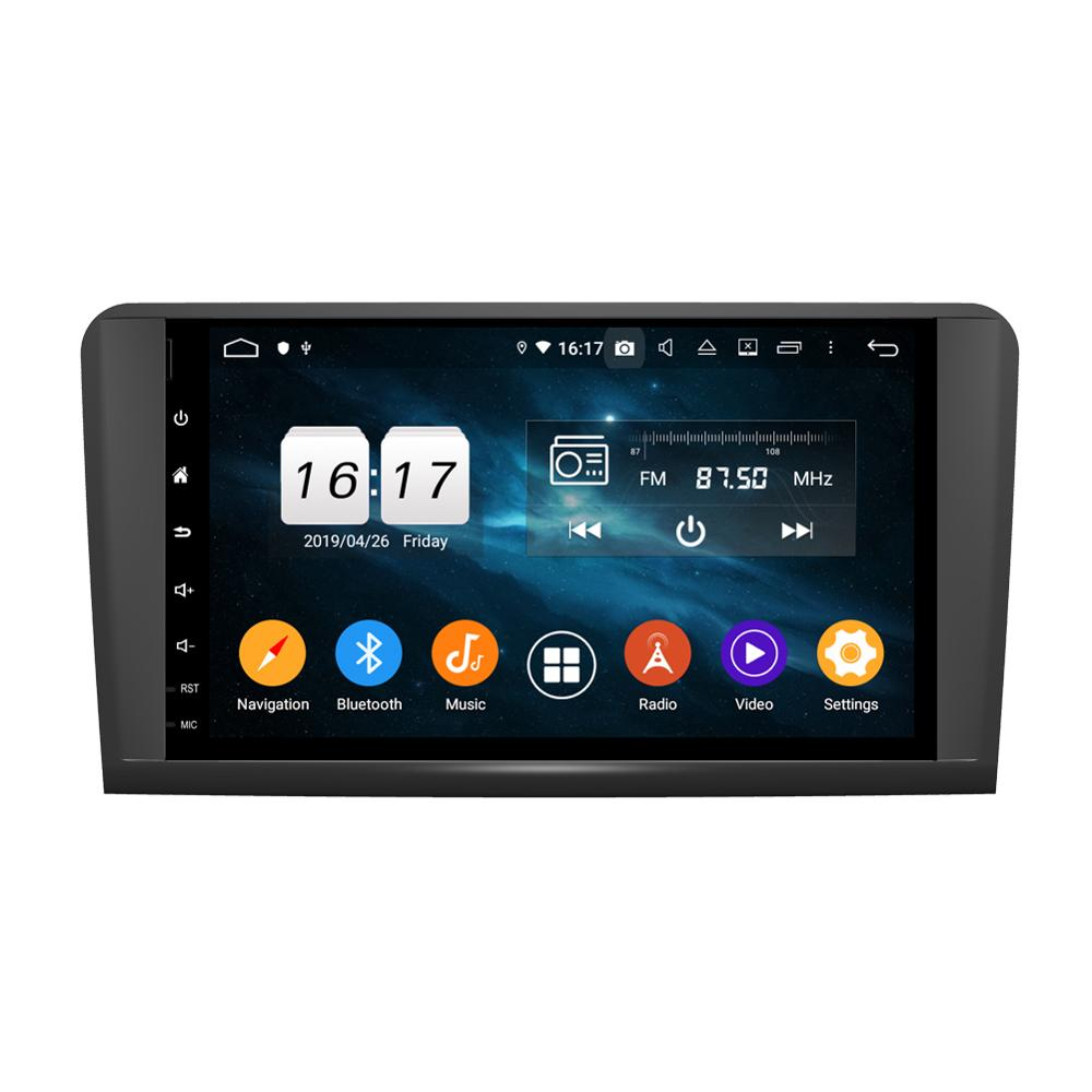 KD-9629 hot sell android 9 full touch car multimedia player for ML CLASS <strong>W164</strong> 2005-2012 ML300,ML350,ML450, ML500