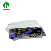 Harvest HP-01 Food Service Disposable plastic sushi <strong>container</strong>