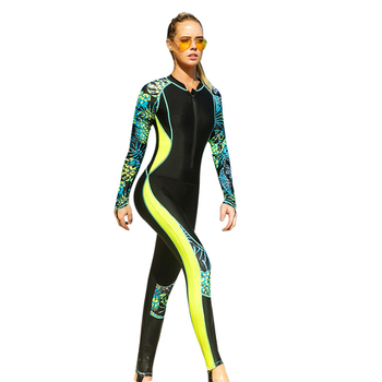 Professional Women Lycra Wetsuit 2018 New Diving Suit Swimwear Full Body Rash Guard Jellyfish Clothes Snorkeling Wetsuits