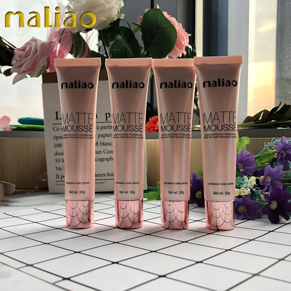 Maliao Cosmetic Makeup Private Label Oem Vegan Foundation Cream For Dark Skin
