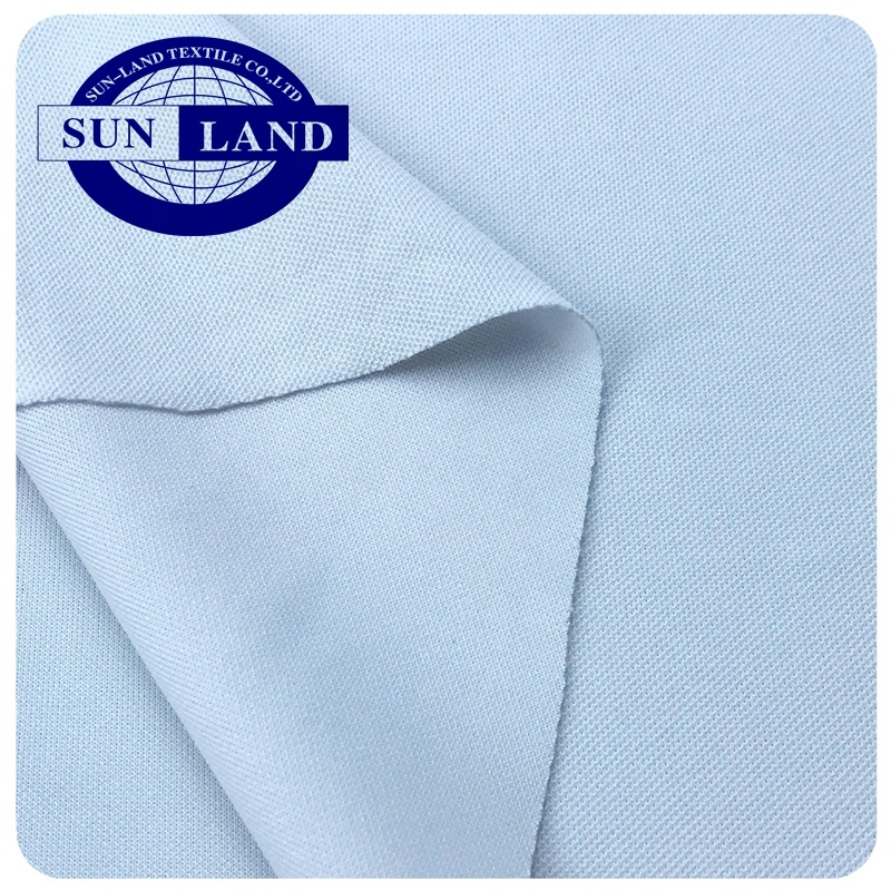 China factory supply quick dry fit knitting PK interlock fabric for golf shirt