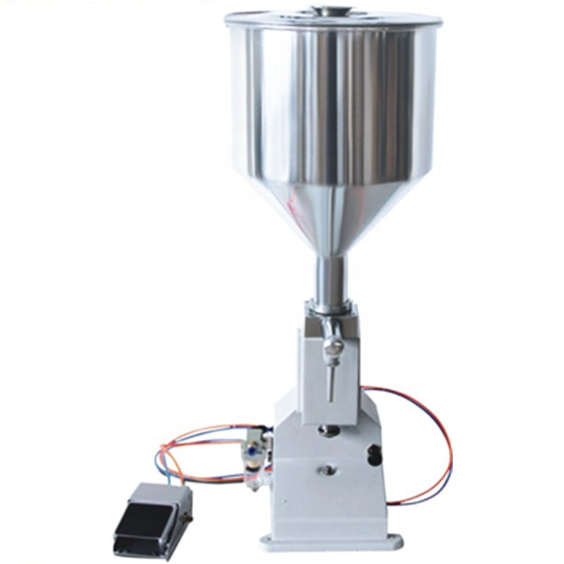 Pneumatic Filling Machine (5~50ml) For Cream &amp; Shampoo &amp; Cosmetic <strong>A02</strong>