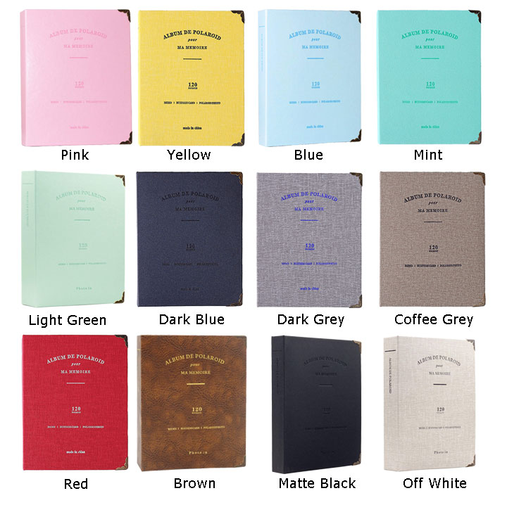 Wholesale photo album 3 inch baby memory book baby journal with 120 pockets high capacity