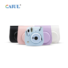 Caiul Best Sale Fujifilm Instax Mini 11 Instant Camera PU Leather Protective <strong>Case</strong>