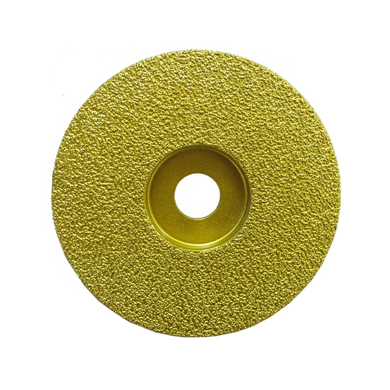 125mm 7 inch Vacuum Brazed Diamond Saw <strong>Blades</strong> For Cast Iron Stone brazing diamond tools