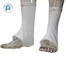 Pure wholesale sublimation custom sports spats solid white football cleat covers