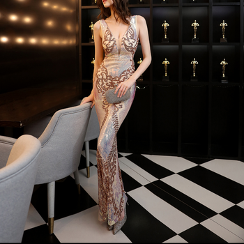 rich Soft & Slim & Mermaid Long Evening Dress for party&club Size:XXL 513312