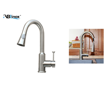 Water Saving 360 Degrees Kitchen Sink Tap Faucet Pull Out Kitchen Tap