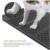 Double-Sided Cat Litter Trapper, Waterproof Foldable Kitty Cat  Litter Mat Scatter Control for Litter Box,