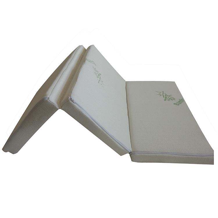 Low MOQ Bamboo cover anti-pull memory foam foldable mattress - Jozy Mattress   Jozy.net