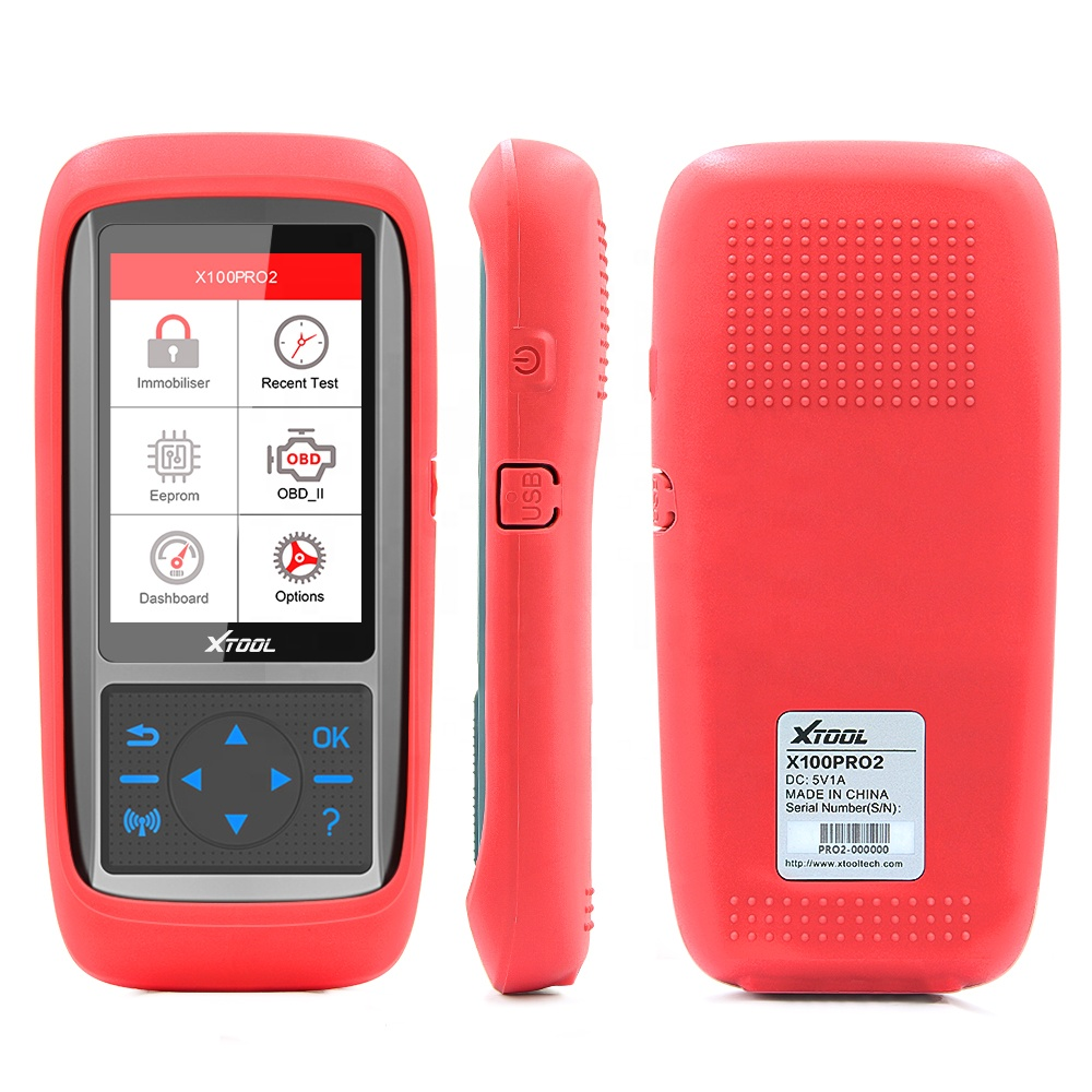 XTOOL key programmer <strong>X100</strong> PRO2 with Eeprom Adapter support China car &amp; online update free