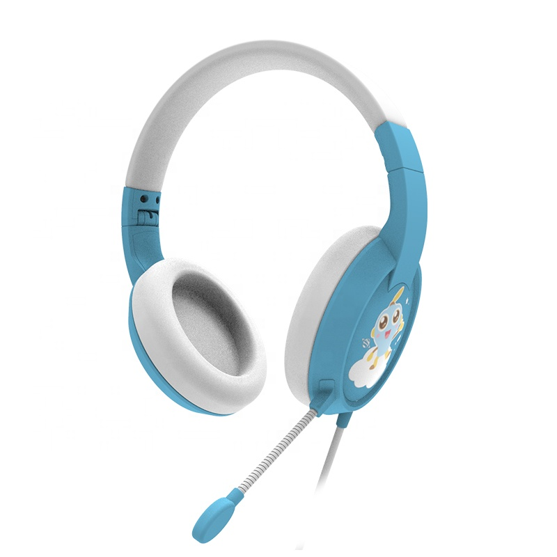 Children Headphones Indoor Computer Noise Reduction Headset Foldable Mobile <strong>Phone</strong> Music Learning Headphone Kids Headphone