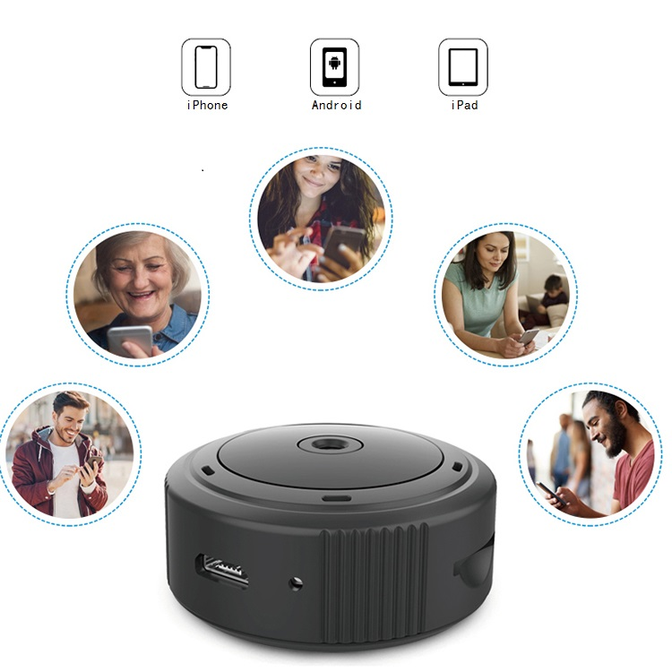 High Quality Home Security 1080P very small mini Wireless WiFi Magnetic DVR Hidden Camera with APP Remote View