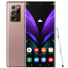 2020 New fashion Note20+ Android AMOLED 3G 4G 5G android <strong>phone</strong> Wholesale Original Unlocked Smart <strong>Mobile</strong> <strong>phone</strong>