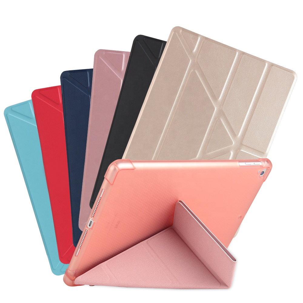 New Case For <strong>iPad</strong> 10.2 10.5 Universal Case Leather Flip Stand Cover For <strong>iPad</strong> TPU Tablet Folding Smart Case