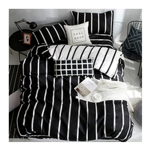 King Size Bed Comforter <strong>Set</strong>, Black and White Print Bedding <strong>Set</strong>
