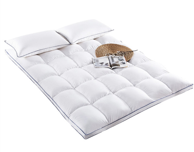 100% Cotton Cover Fill with Polyester / Down and Feather Mattress - Jozy Mattress | Jozy.net