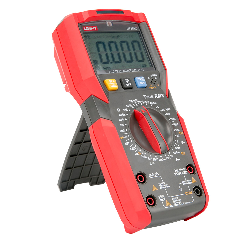 UT89XD 20A 1000V uni t multimeter german multimeter parts of a digital multimeter