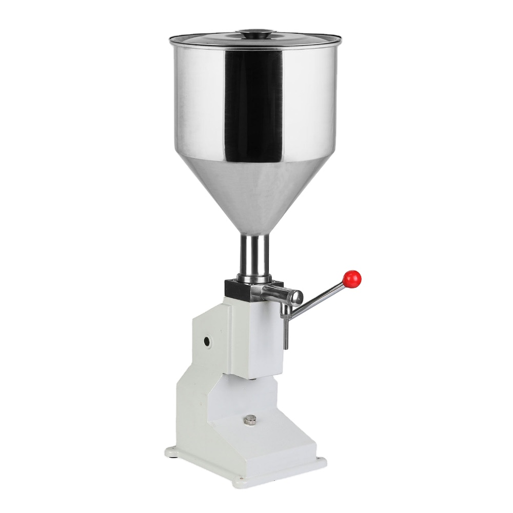 Liquid Filling Machine Manual 5ml to 50ml Liquid Filler Food Grade 40 Bottles per Minute Drink Water Oil <strong>A03</strong>
