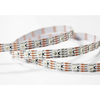 Waterproof Digital Strip ws2813B Pixel RGB Led Strip,Addressable Built-in SMD 5050 Chip Tape Light