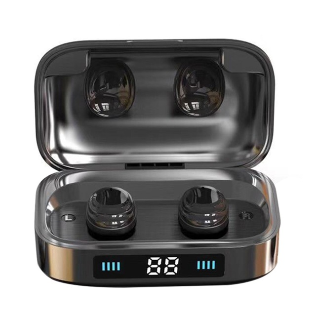 <strong>H01</strong> TWS Wireless Earphone Touch Control Earbuds Bluetooth 5.0 Headset 9D Stereo Music 2000mAh LED Display
