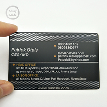 Stainless steel material matt black metal <strong>cards</strong> metal business <strong>card</strong> custom thickness with chip magnetic stripe