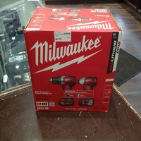 100%Deal 2691-22 Milwaukee M18 Compact 2-Tool Combination Drill / Driver Kit Impact
