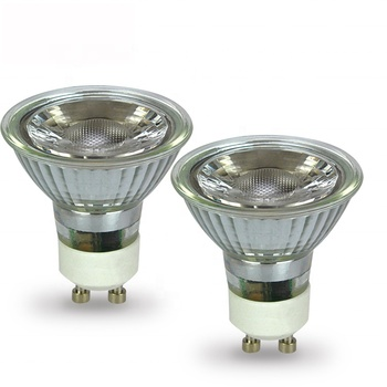 New style LED GU10 5W 7W glass body with lens 38 degree SMD spotlight AC220-240V , LED-GU10