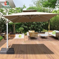 Outdoor Furniture Large Umbrella Outdoor Garden Stand Roman Umbrella Patio Cantilever Aluminum Umbrella For Beach