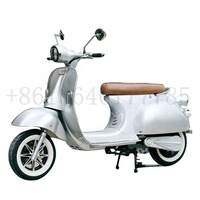 Newest Type Best Quality Vintage Vespa EEC Classic Retro 2 Wheel Electric Scooter