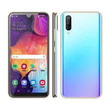 UNIWA M6261 Android 6.0 Type-C USB Port 6.26 Inch Waterdrop Notch Screen Gradient Color Glass Cover Latest no brand smart <strong>phone</strong>