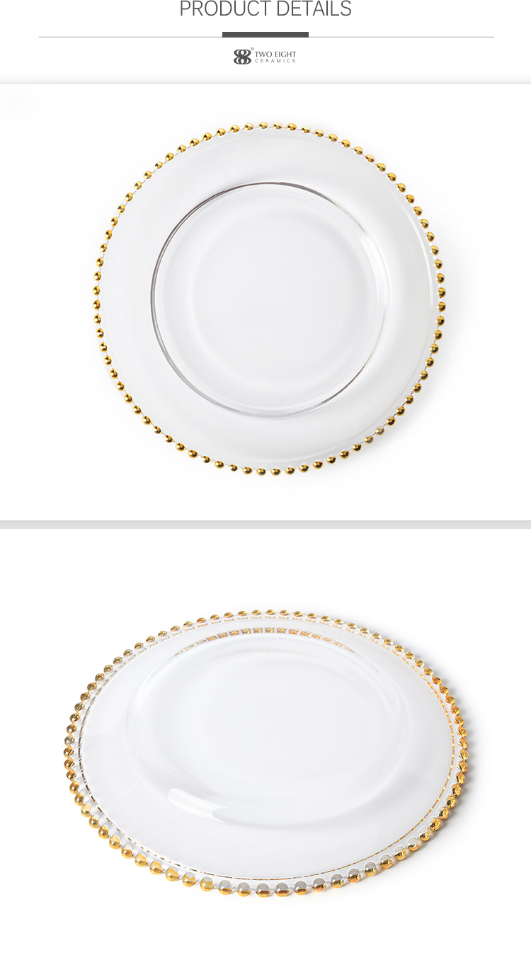 Chaozhou Wholesale Cheap Gold Charger Plates, Charger Gold Plate , Dinner Charger Plate>