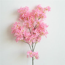 Cherry Flower Large Size <strong>Sakura</strong> Artificial Blossom Fakes Flower for Wedding Party Decor