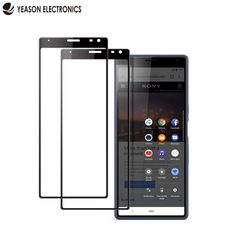 lcd screen protector for <strong>sony</strong> xperia 10 plus full cover tempered glass