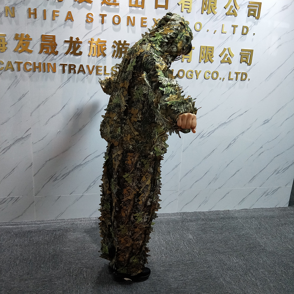 Outdoor camouflage suit ghille suit for hunting Military activities