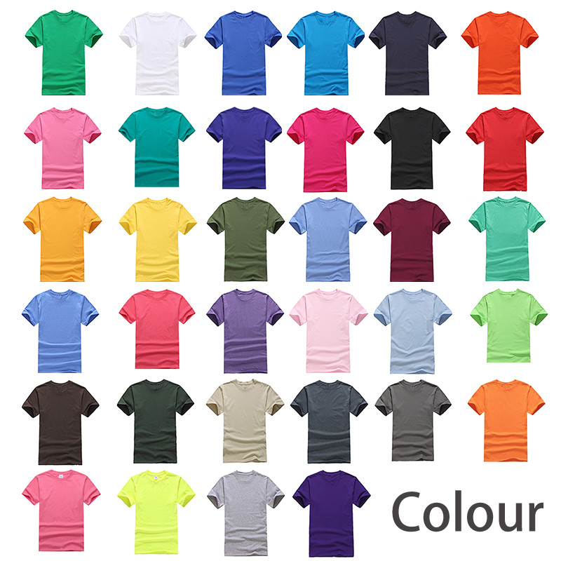 Custom 100% Cotton Tshirt Printing Logo Tee Shirts Blank Embroidery Mens T Shirt