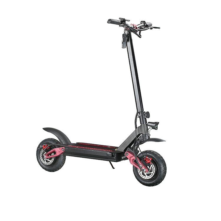 EcoRider Adult Electric Kick Scooter Foldable With With Seat And Truck