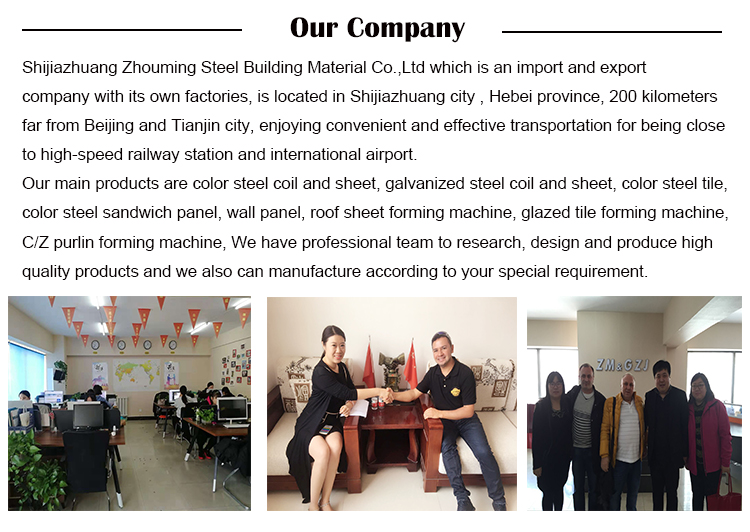 Hot selling corrugated roof sheet making machine