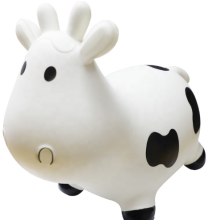 2020 Inflatable Jumping milk Cow for kids