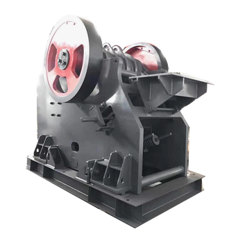 Engineering machine jaw crusher