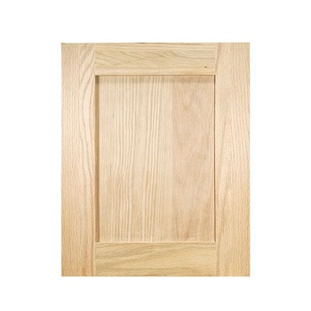 Solid Wood Red Oak Unfinished Shaker Style Kitchen Cabinet Door