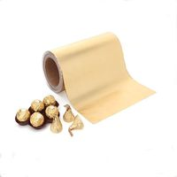 Food grade aluminium foil chocolate wrapping paper