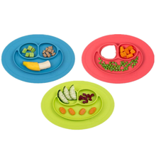 Hot sellingThickening products Silicone baby food <strong>plate</strong> dinner <strong>plates</strong> easy to clean kids dishes for travel