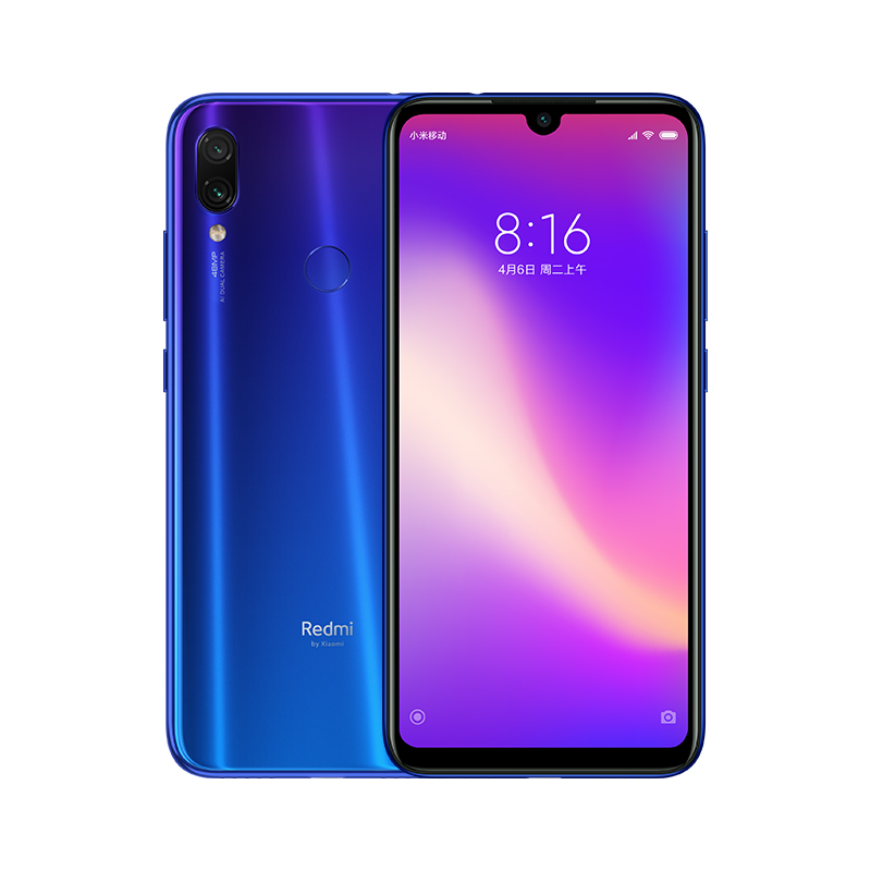 Xiaomi Redmi Note 7 Pro mobile phone 6GB 128GB 6.3 Inch FullScreen 2340 <strong>x</strong> 1080 48MP Dual Camera factory <strong>price</strong>