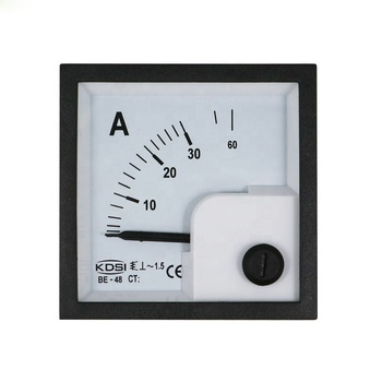 CE certificate BE-48 AC30A direct ac analog panel ampere meter