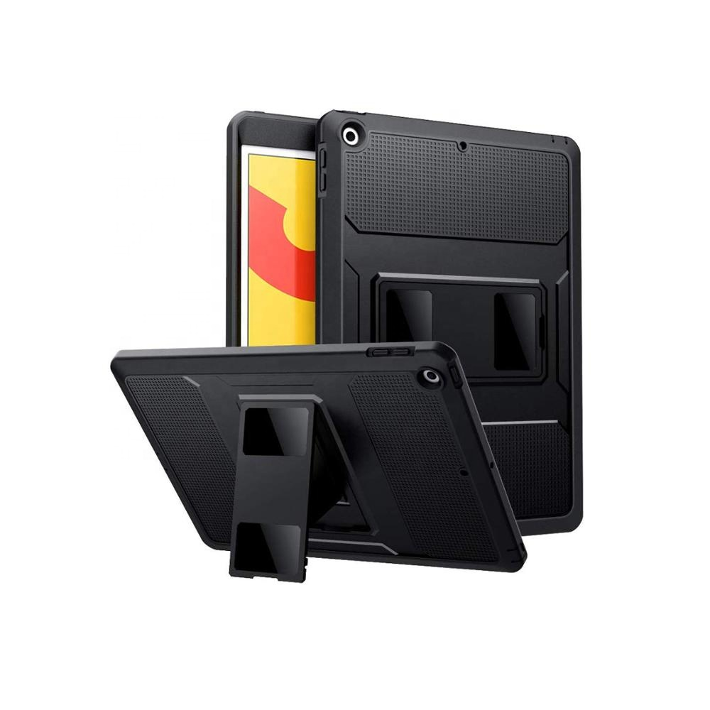 MoKo Case for <strong>iPad</strong> 10.2 2019 (10.2 inch), [Heavy Duty] Shockproof Full Body Rugged Hybrid Cover with Built-in Screen Protector